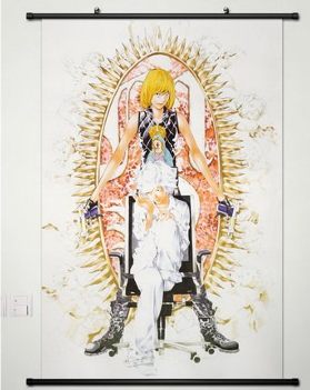 Mello and Near Death Note manga poster