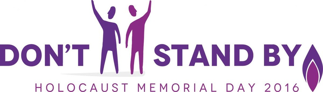 Holocaust Memorial Day 2016 logo