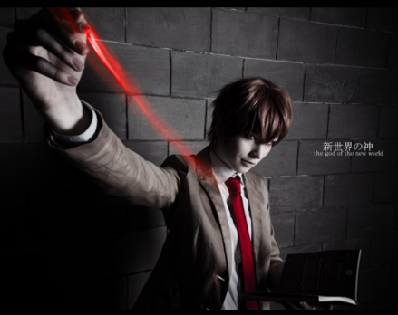 FaustoTheEndless as Light Yagami Death Note