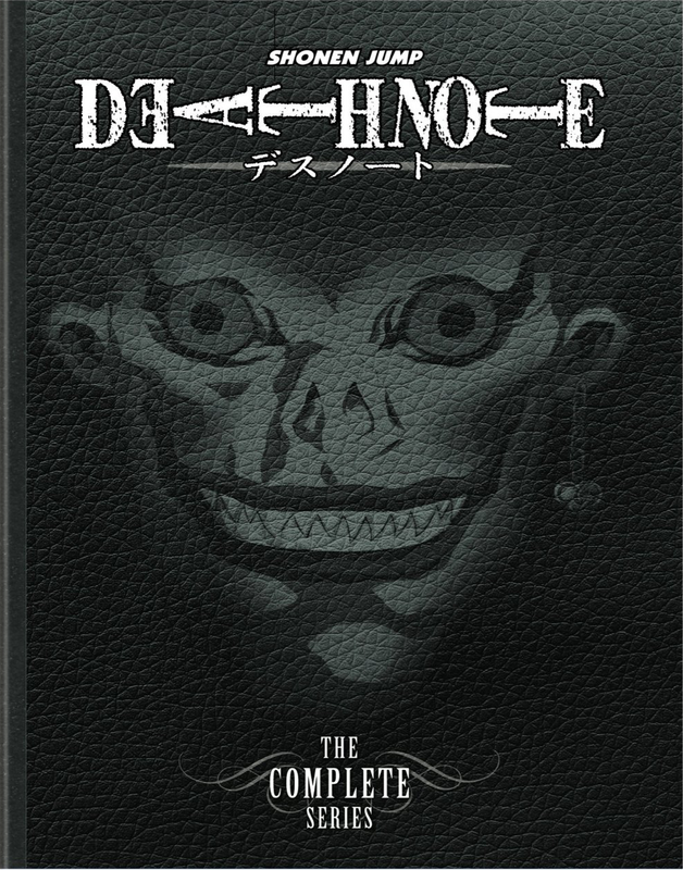 Death Note Anime Box Set The Complete Series