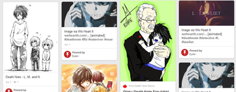 Death Note Wammy pins on Pinterest Board