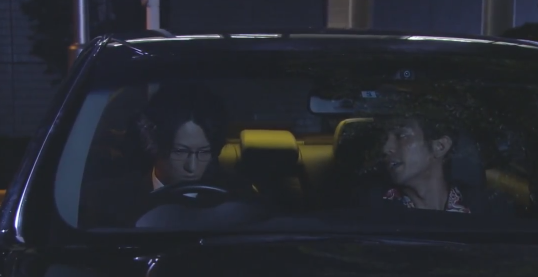 Mikami and Yudagawa in tv's Death Note 2015