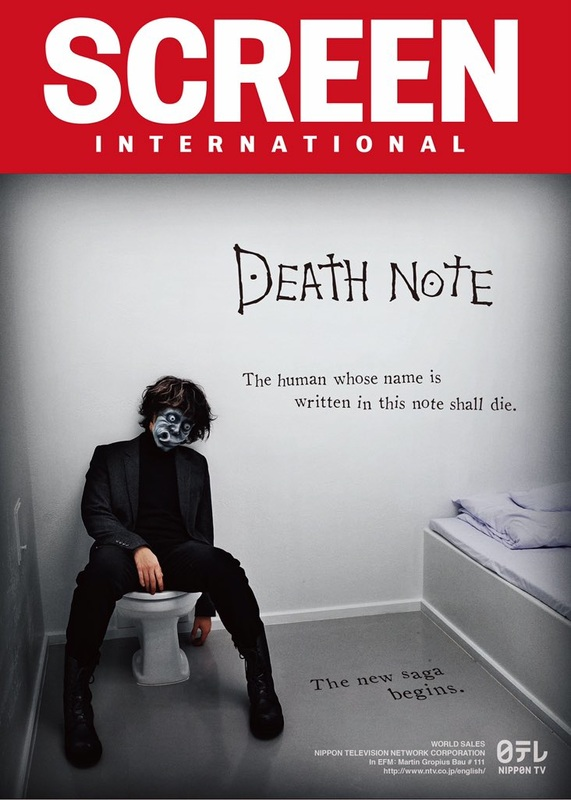 Screen International Death Note cover Feb 11th 2016