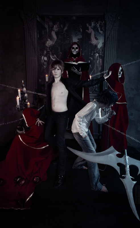 Light Yagami cosplay FaustoTheEndless Death Note The Mightiness of Kira