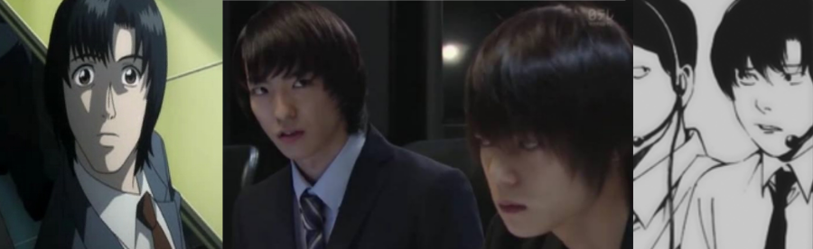 Death Note's Matsuda in anime, tv drama and manga