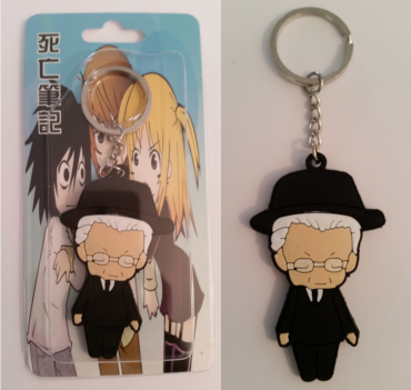 Death Note Watari keychain