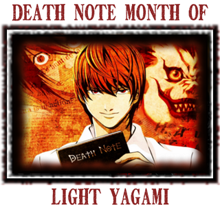 Light Yagami Death Note Month of on Death Note News